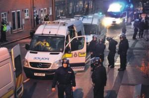 Slab riots