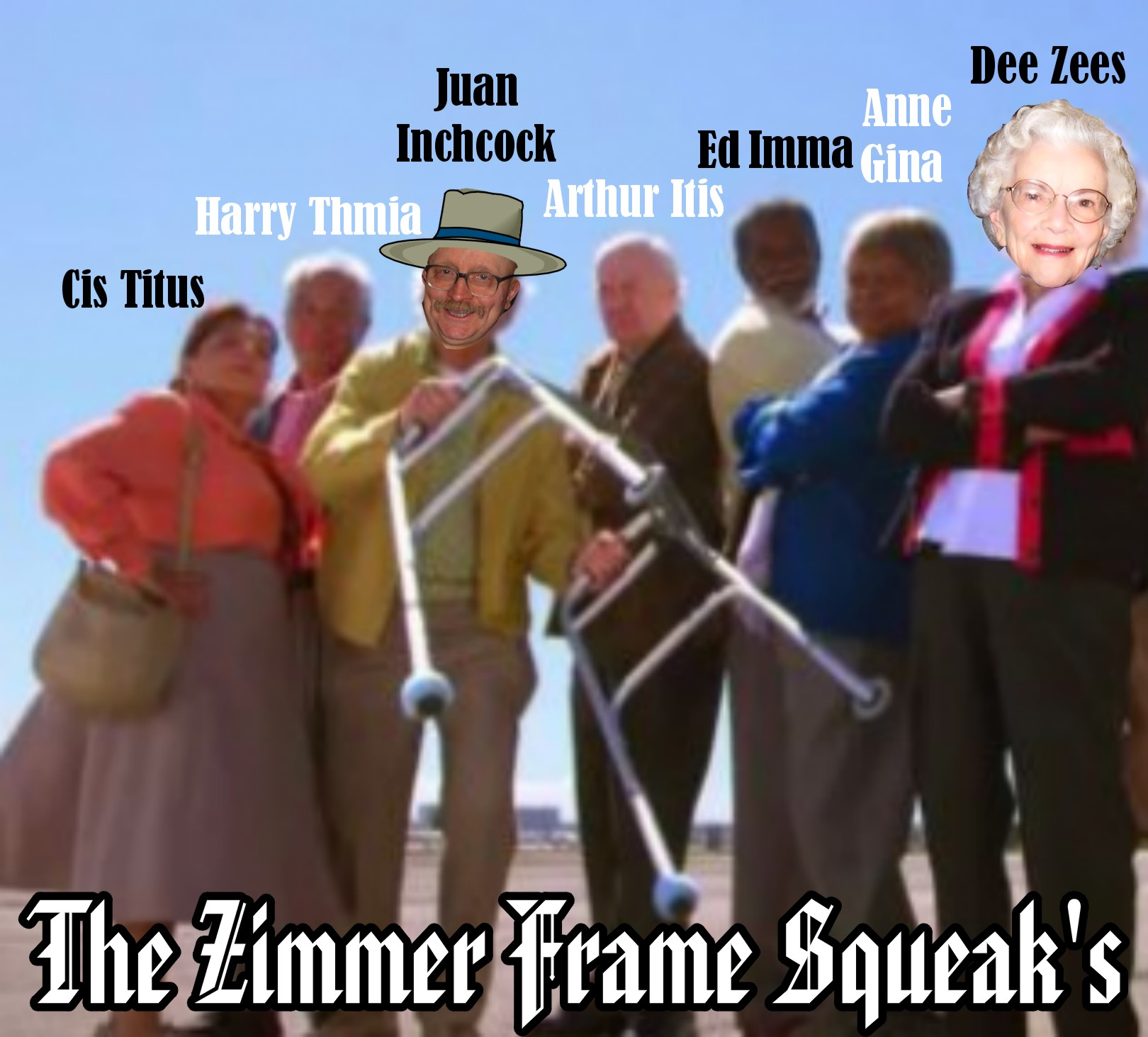Retirement Colonies Senior Citizens Find A Home Away From: Zimmer Frame Squeaks Prepare For Their First Performance